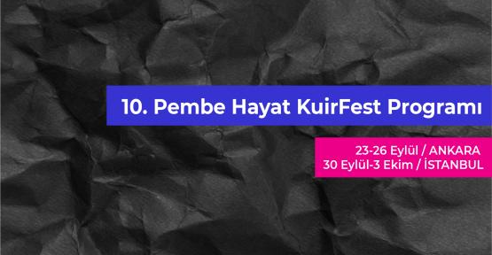10. Pembe Hayat KuirFest programı yayında!
