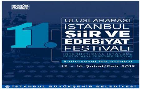 11. Uluslararası İstanbul Şiir ve Edebiyat Festivali Başlıyor