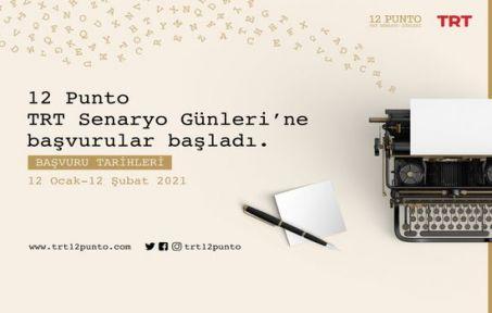 """""""12 Punto TRT Senaryo Günleri"""" Başvuruları Başladı"""