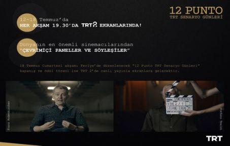 '12 Punto TRT Senaryo Günleri'nin Etkinlik Tarihi Belli Oldu