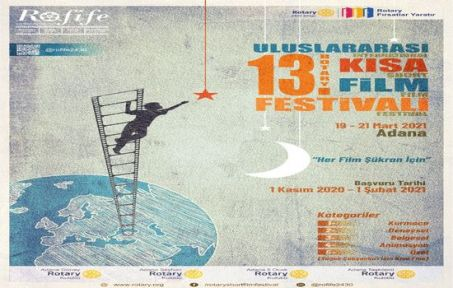 """13. 'ROFİFE"""" Rotary Uluslararası Kısa Film Festivali"""