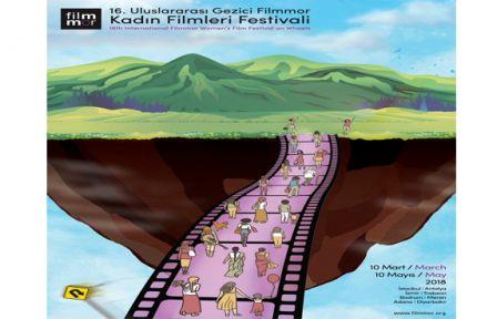 16. Filmmor Kadın Filmleri Festivali Geliyor