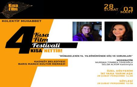 4. Kısa Film Kolektifi Festivali başlıyor