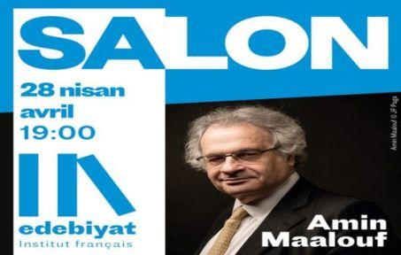 Amin Maalouf Edebiyat Salonu'nda