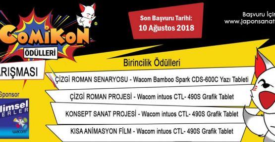COMİKON 2018 ÖDÜLLERİ YARIŞMASI