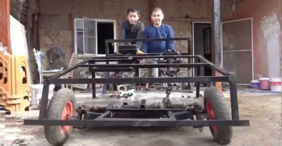 Gönül Dağı'ndan esinlendiler araba yaptılar