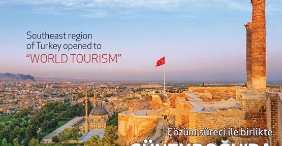 Güneydoğu'da turizm patlaması bekleniyor