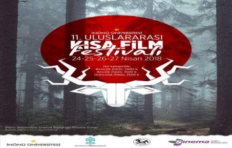 İnönü Üniversitesi 11. Uluslararası Kısa Film Festivali Başvuruları Başladı