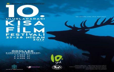 İnönü Üniversitesi Uluslararası 10. Kısa Film Festivali