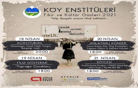 Köy Enstitüleri Fikir ve Kültür Günleri başlıyor!