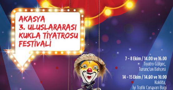 Kukla Tiyatrosu Festivali Başlıyor