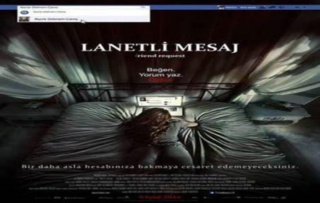 LANETLİ MESAJ'dan (Friend Request) afiş ve fragman yayınlandı!
