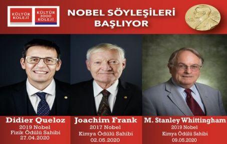 """'Nobel Söyleşileri"""" Kültür'de!"""