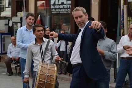 SİNAN ALBAYRAK'TAN MUHTEŞEM HARMANDALI!