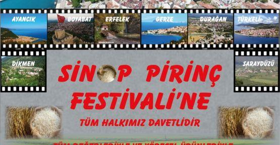 Sinop Pirinç Festivali başlıyor