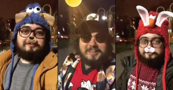 Sosyal Medya Fenomeninden Filtreli Şarkı