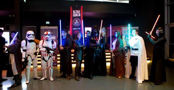 Star Wars hayranları kostümleriyle Akasya'da buluşacak