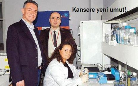 Türk doktorların kanser ilacı!