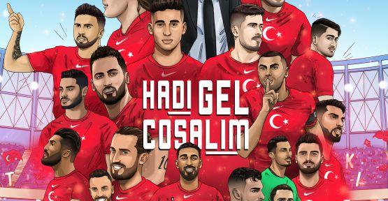 Türkiye A Milli Futbol Takımına özel şarkı