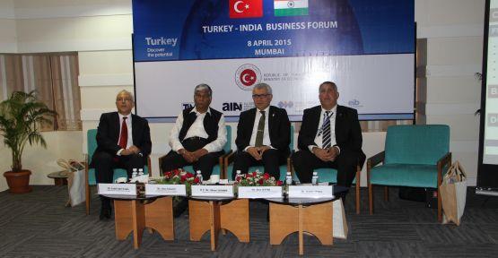 Türkiye-Hindistan İş Forumu Başarıyla Tamamlandı