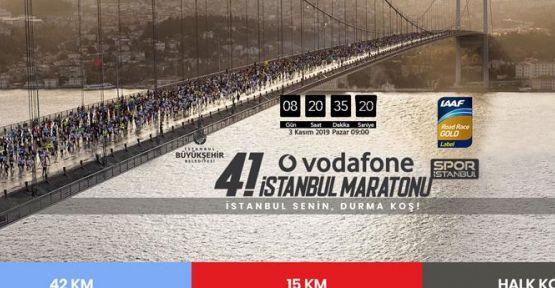 Vodafone 41. İstanbul Maratonu'nda Bağış Rekoru Kırıldı!