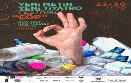 Yeni Metin Yeni Tiyatro Festivali Başlıyor!